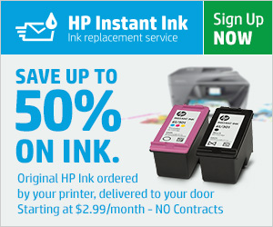 Why I Trust Instant Ink from @HP #AffiliateLinks