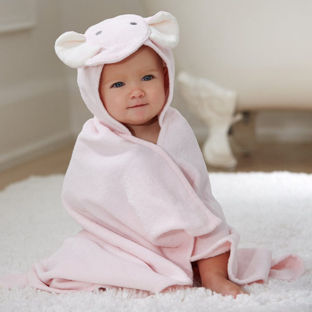 Elephant Baby Towel