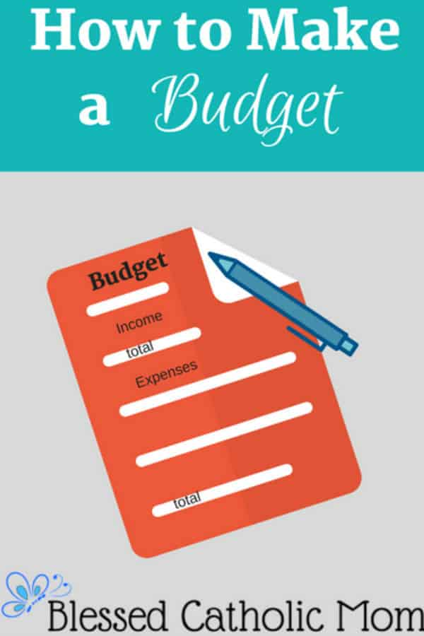 How to make a budget is not difficult. Implement these easy steps and you will have a working budget that is easy to manage. Image of a graphic called How to Make a Budget with a graphic if a budget sheet with income and expenses to be logged and a pen on it.