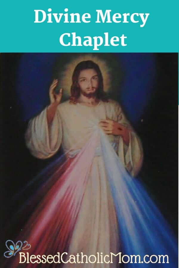 Pray The Divine Mercy Chaplet and encourage others to pray it as well. Jesus wants all of us to turn to Him and trust in His Divine Mercy. #DivineMercy #Jesus #prytheDivineMercyChaplet #StFaustina Image of Jesus, the Divine Mercy.