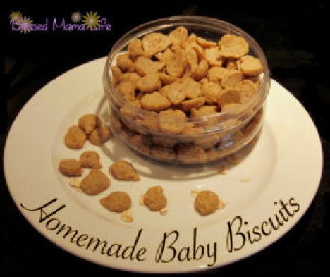 homemade baby biscuits puffs