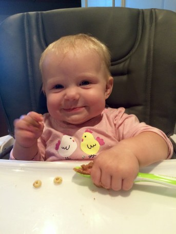 Skip purees and feed baby solids.