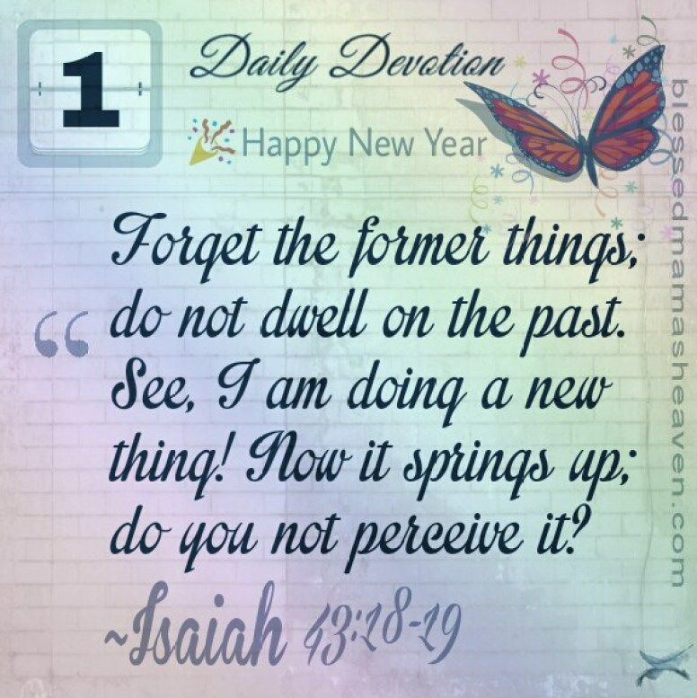 New Year, New You Post! Have a blessed New Year! Blessings & love ❤