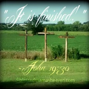 """It is finished!"" ~John 19:30"