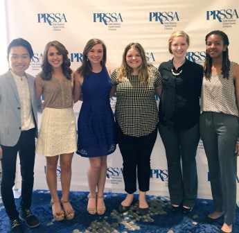 These are some of the awesome people I met at the 2017 PRSSA Leadership Rally