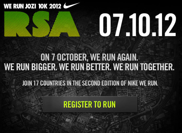 lessons from preparing for we run jozi 10k