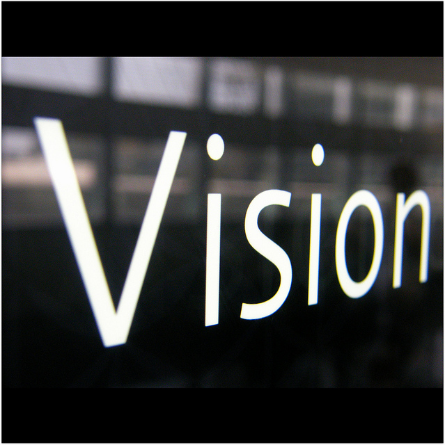 how you're sabotaging your vision