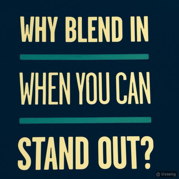 No Blend Please