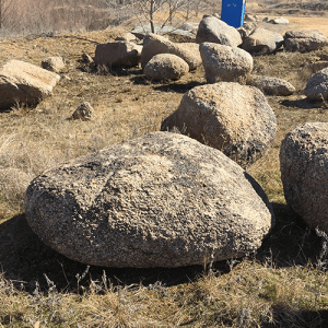 decorative boulders