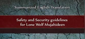 english jihadist guidline