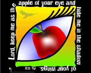 Are you the apple of Someone's Eye? Absolutely!