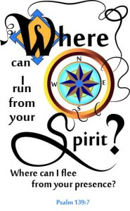 Bulletin Cover Ps. 139:7 Where can I run from your Spirit?