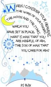 PS 8:3-4 by Marsha Baker Blessinks.com
