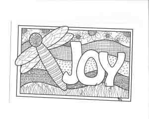 Doodle Devo: JOY – Printable!