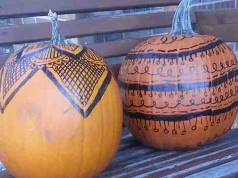 doodle pumpkins 2