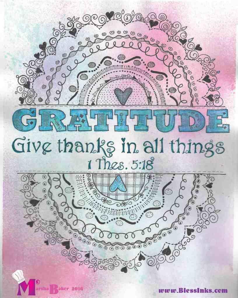 Gratitude 1Th 5 18