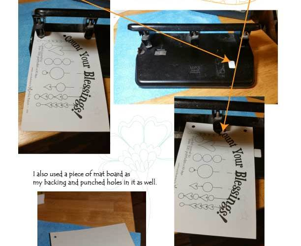 Count Your Blessings – Book Binding ideas