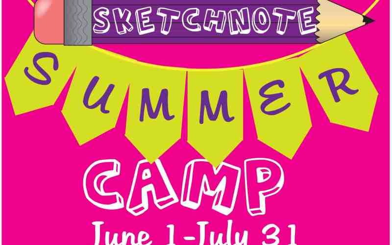 Sketchnote Summer Camp is open!