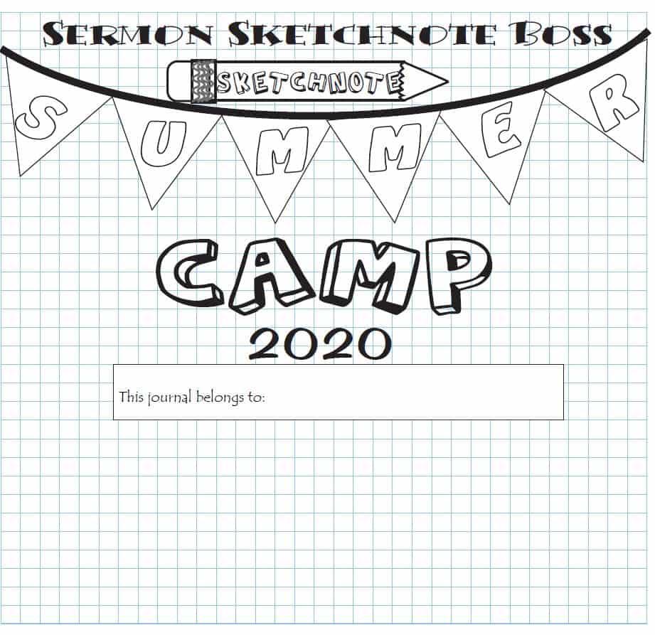 sketchnote summer camp