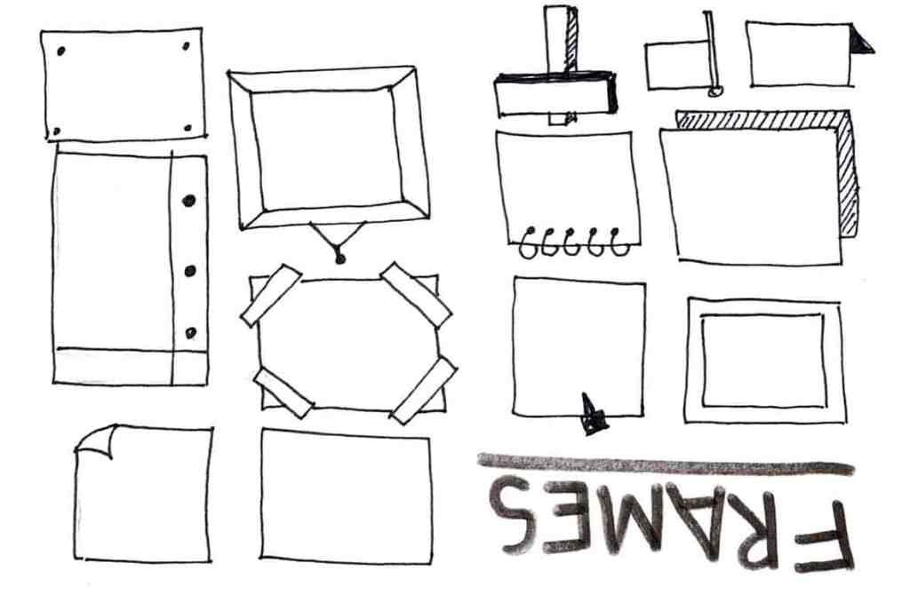 skerchnote frames