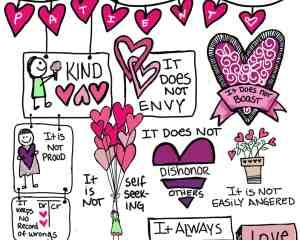 1 Cor 13 Love is