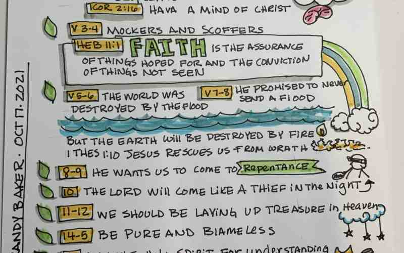 10 Day Sermon Sketchnote Challenge – Day 2