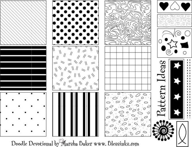 Doodle Devo Patterns 1