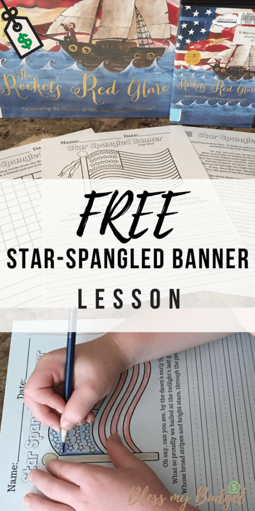 Teach Your Kids About The Star Spangled Banner For Free Printable