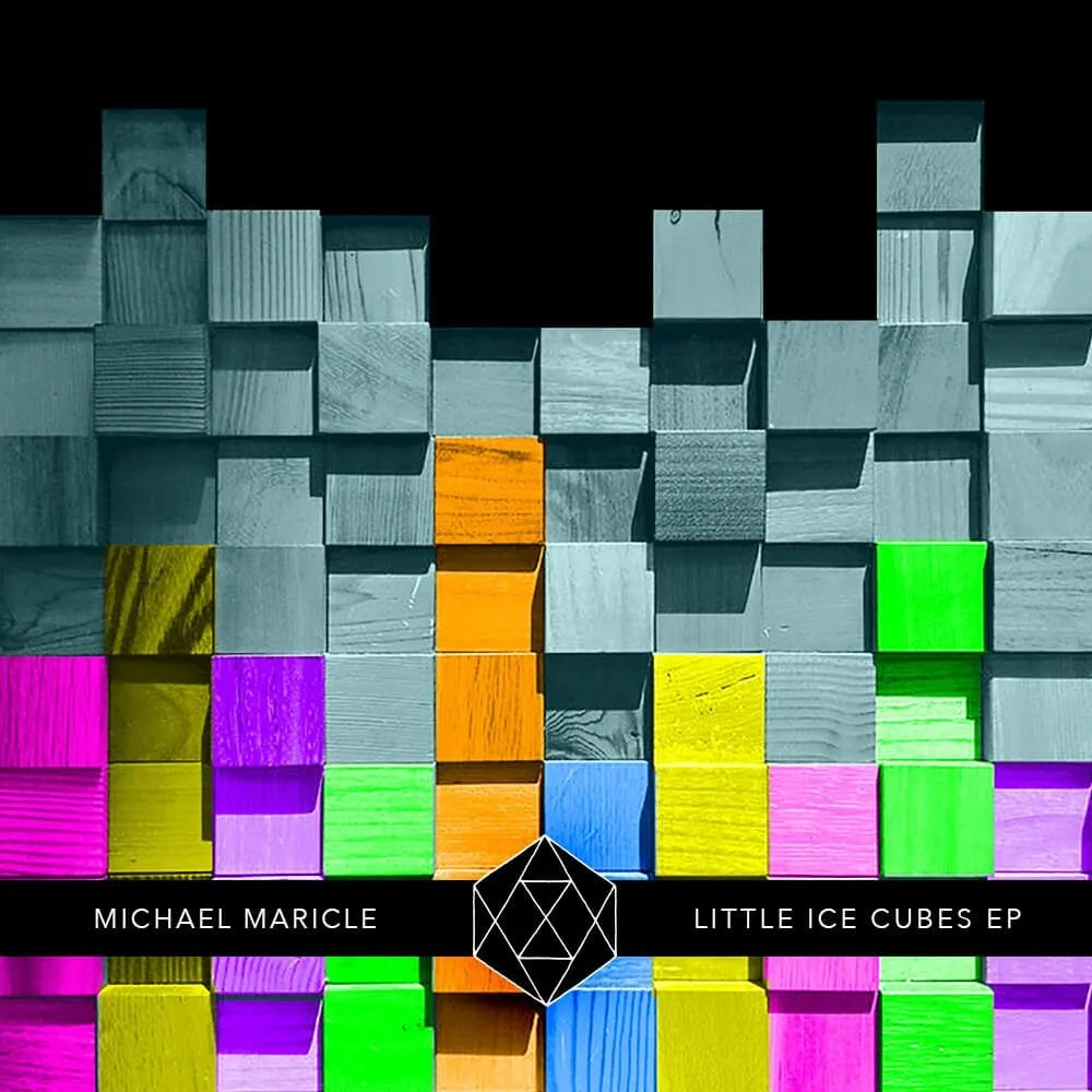 "Michael Maricle ""Little Ice Cubes EP"" Album Art"