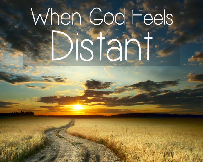 When God Feels Distant | BlessThisEmptyNest.com - Recently I had an experience of feeling like I lost my connection with God. I worried that I was doing something wrong, but as I prayed about it I had a few realizations.