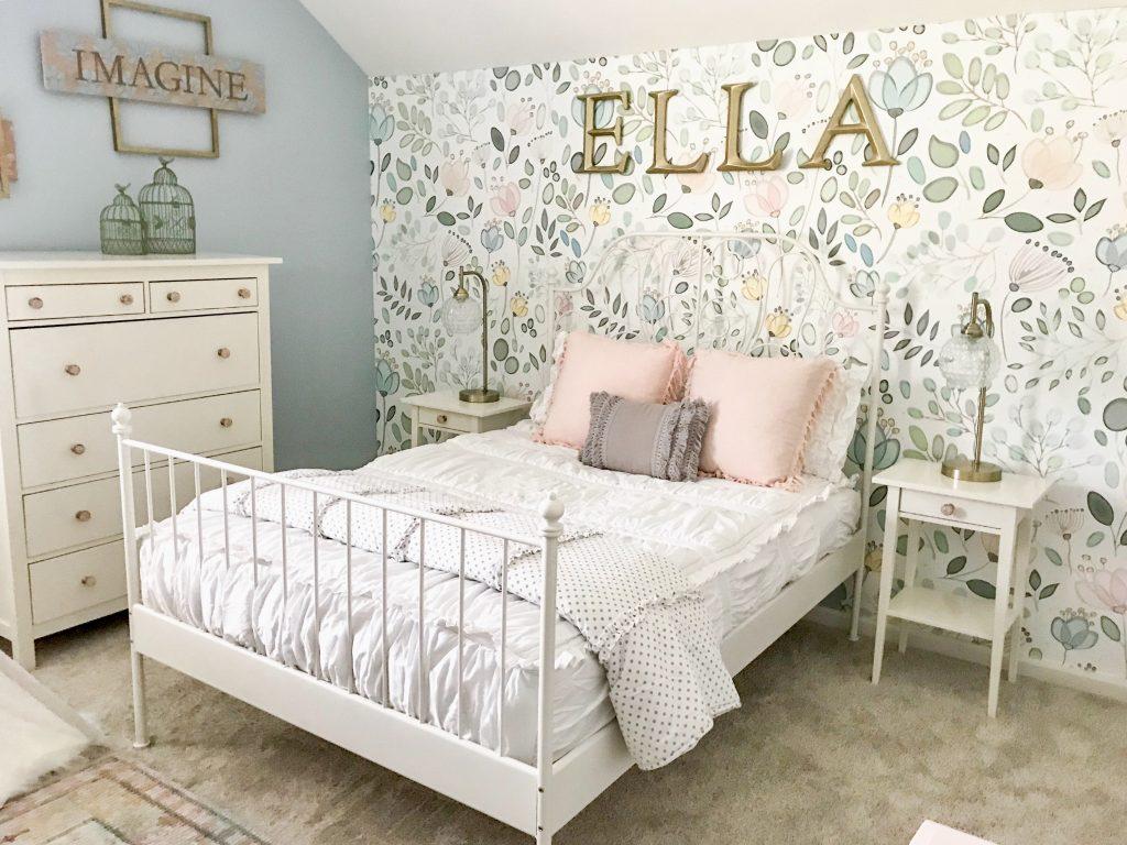 little girl bed