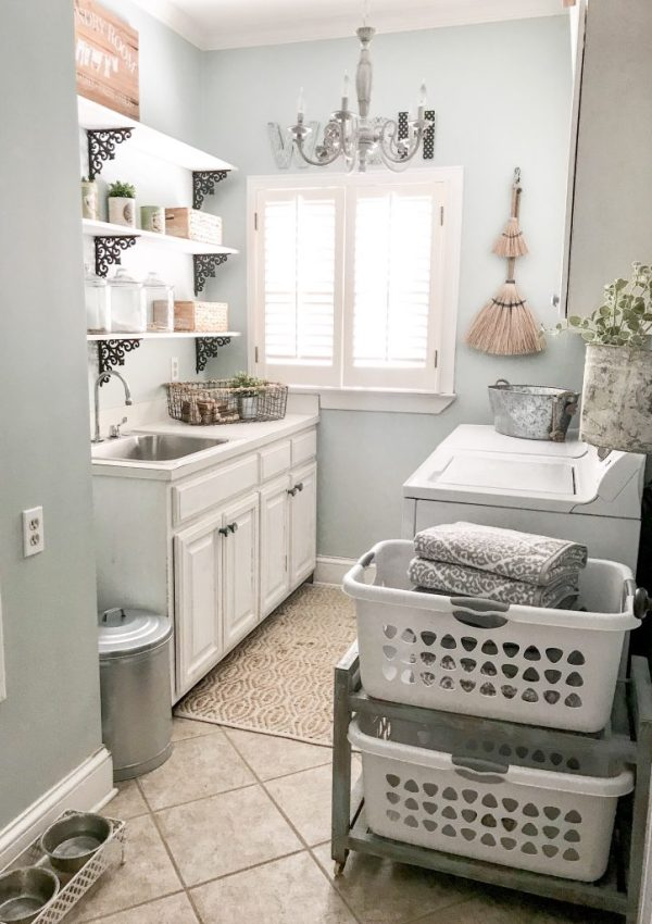 My Favorite Laundry Room Decor and Must Haves