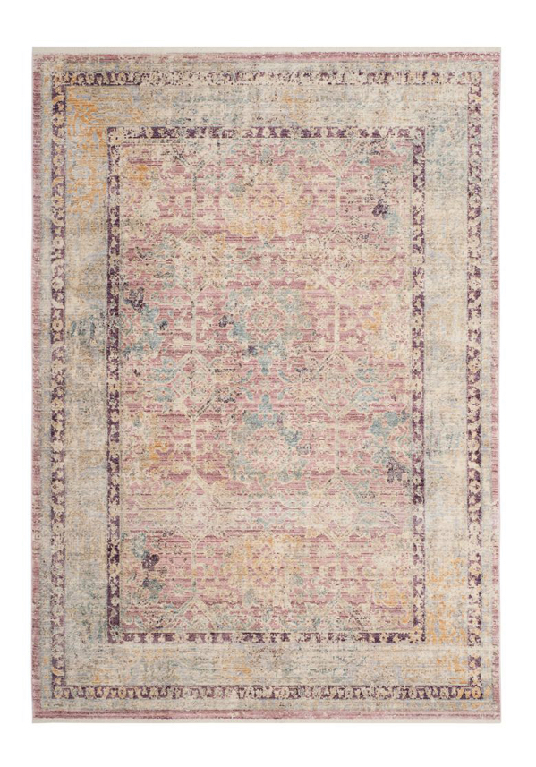 light pink area rug