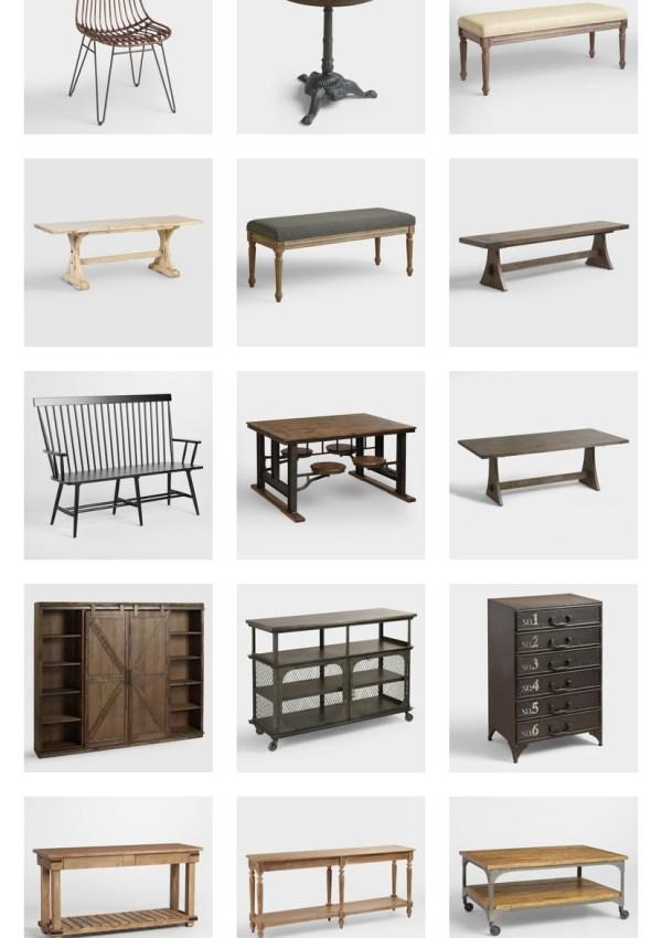 World Market Furniture Sale Round Up