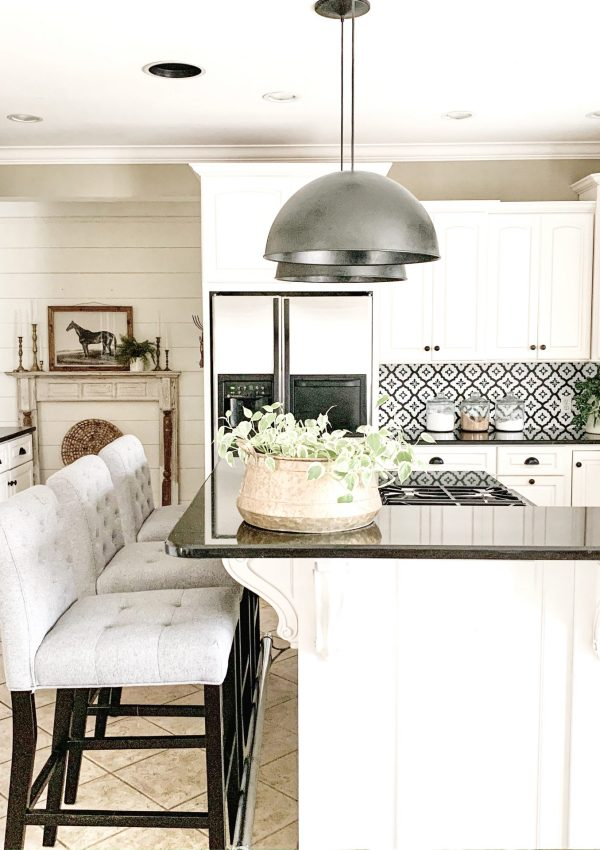 Kitchen Refresh Reveal- 3 Simple Ways to Refresh Your Kitchen