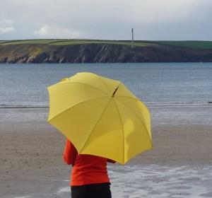Parapluie jaune de Neyrat