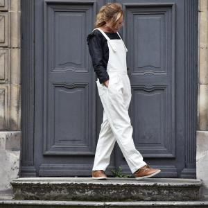 Paulette dungarees, the must have for the autumn