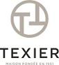 logo de la marque TEXIER, maison fondée en 1951