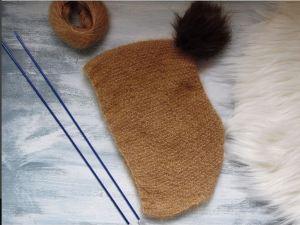 Mon kit tricot Béguin de MISSEGLE