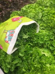 Mon sac à salade ... By Arminé, motif Poules