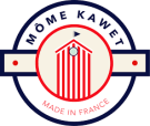 logo de la marque Môme Kawet (made in france)