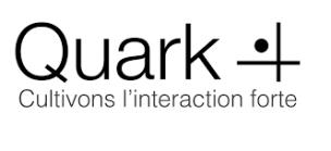 logo de la marque Quark (cultivons l'interaction forte)