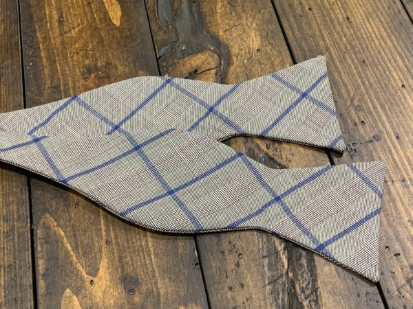 """100% Wool Self Bow Tie Adjustable Neck Size 14.5"""" - 20"""" Traditional Butterfly"""