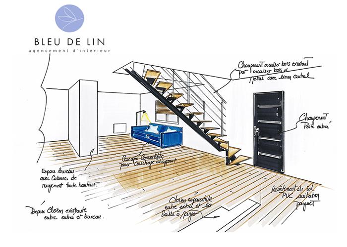 Rénovation Rez-de-chaussée pavillon