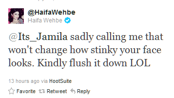 You DON'T mess with Haifa Wehbe... (2/6)