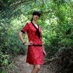 Robe Mademoiselle Ispahan