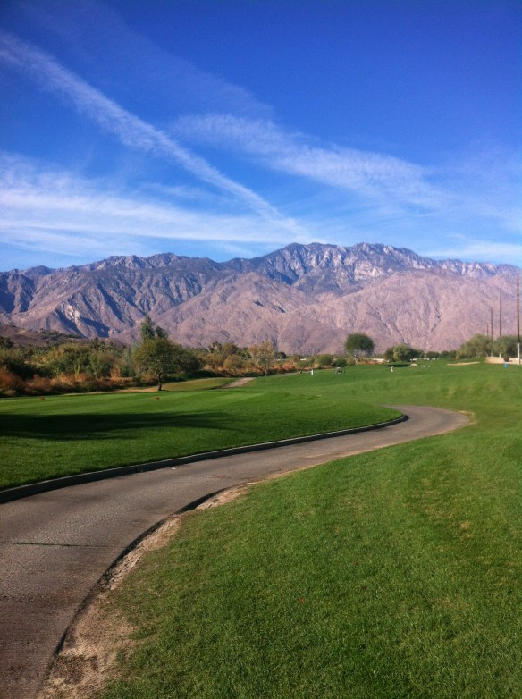 One of more than 125 golf courses in my area. The LA Times says,