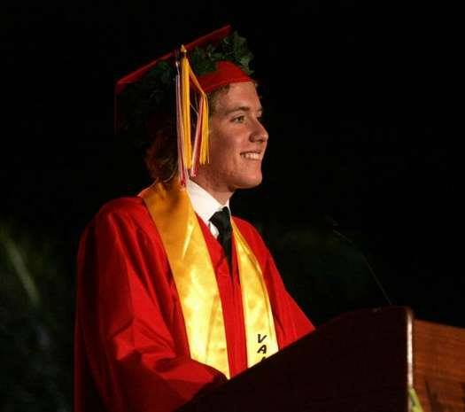 my son's valedictorian speech