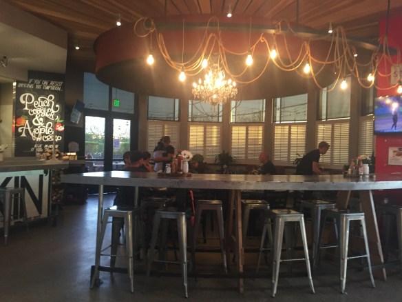 Inside dining at The Thumb Scottsdale AZ
