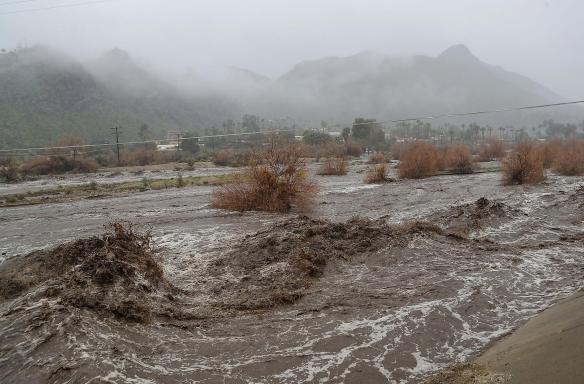 Desert Sun 2019 flood photo